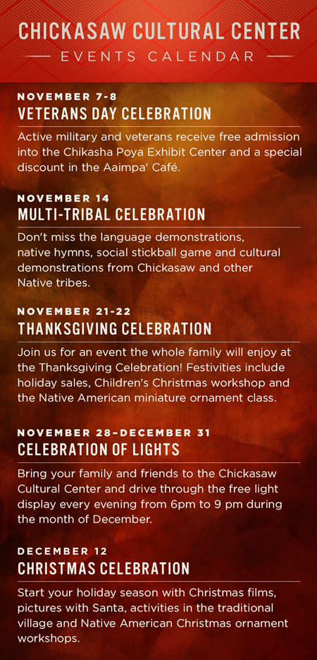Chickasaw Cultural Center  Native American Culture amp History